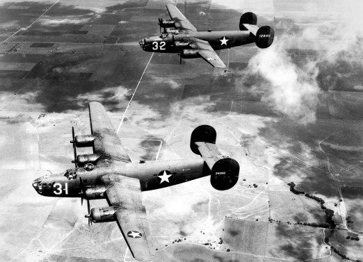 "Consolidated B-24 ""Liberator"""